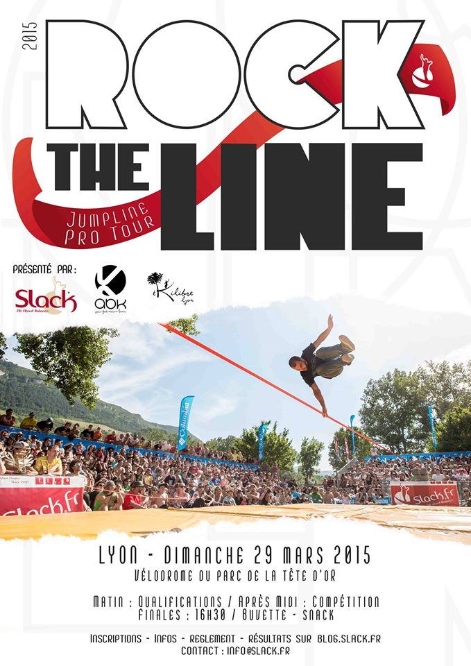 Affiche rock the line Lyon